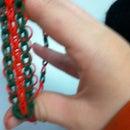 How To Make A Triple-single Bracelet And A Single Bracelet On A Loom