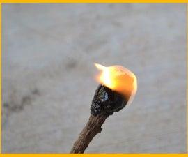 Survival Pine Tar: Pitchsticks, Fire Starter, Super Glue!!