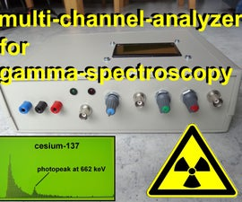 Multi Channel Analyzer for Gamma Spectroscopy With Arduino & Theremino