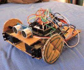 PC Controlled Bluetooth Robot (With a GUI !)
