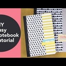 DIY Easy Notebook Tutorial