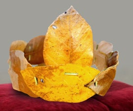 How to Make a Crown From Jack Fruit Leaves