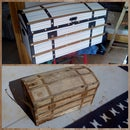 restauración de baúl antiguo/ antique chest restoration