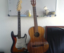 The PVC single guitar stand