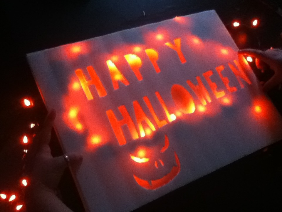 Picture of Halloween Sign