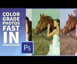 How to Color Grade Photos in Adobe Photoshop
