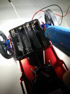 Modify and Mount the Battery Holder