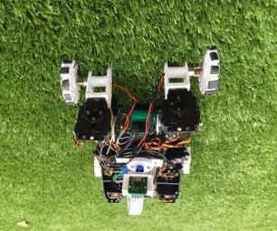 Husky I : Quadruped Live Streaming Bot With Raspberry Pi