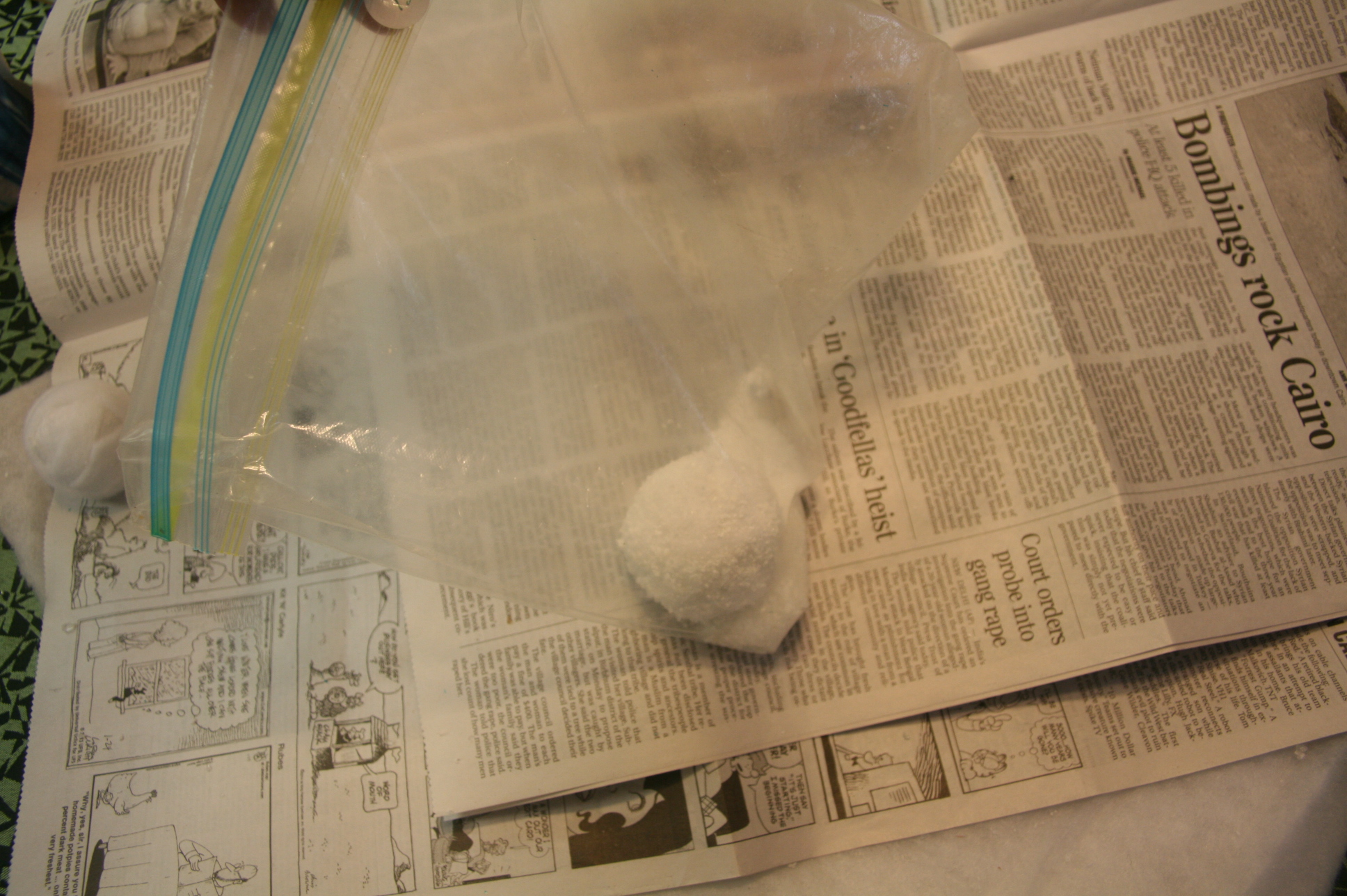 Picture of Putting the Powder ON!
