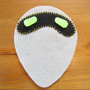 Bug 2 - Stitch Pieces and Embroider