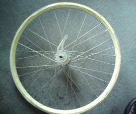 Easy wheel lacing