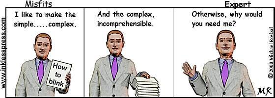 Expert Liars