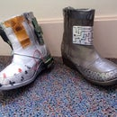 Light Up Cyber Boots