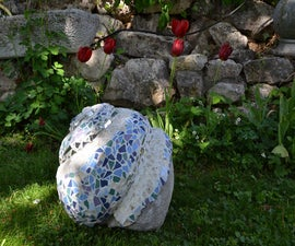 how to make a garden sculpture
