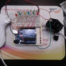 Arduino Wii nunchuck and Wii motion plus with updated code for IDE 1.0.2 and LEDs