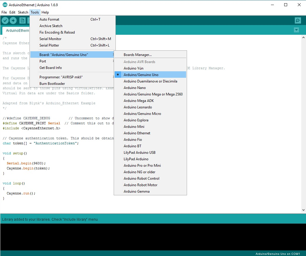 Picture of Configure Arduino IDE