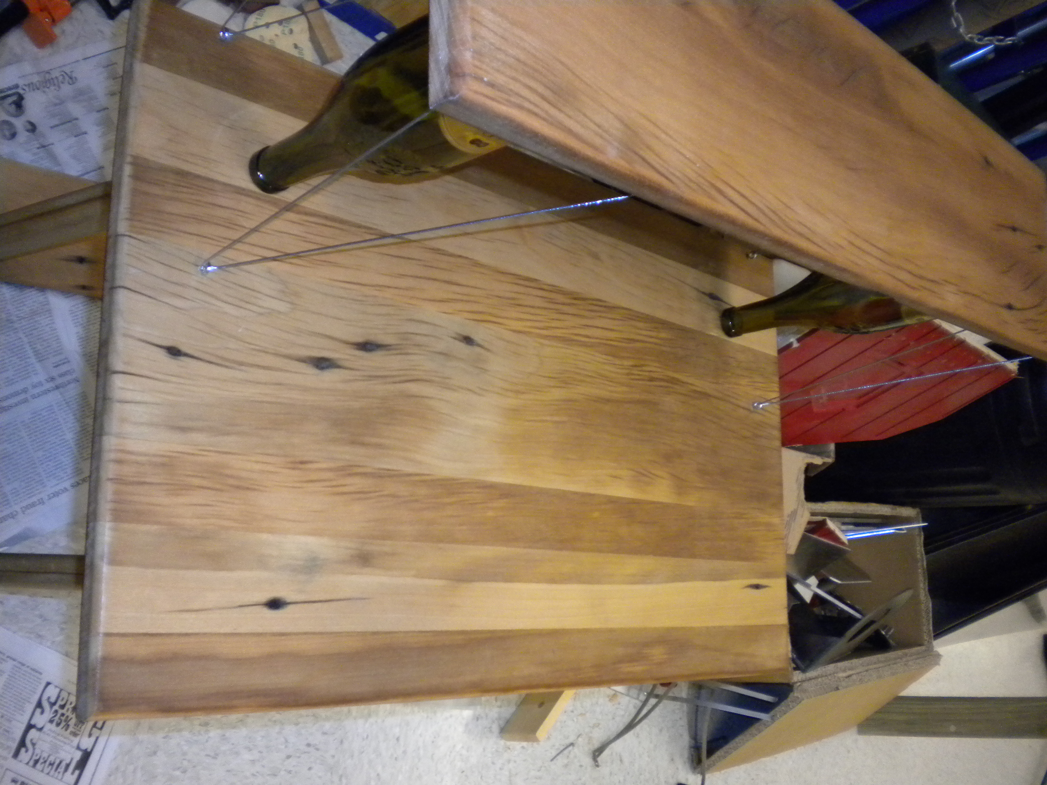 Picture of Recycled Wood Window Table