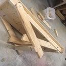 Folding Wood - Work Platform