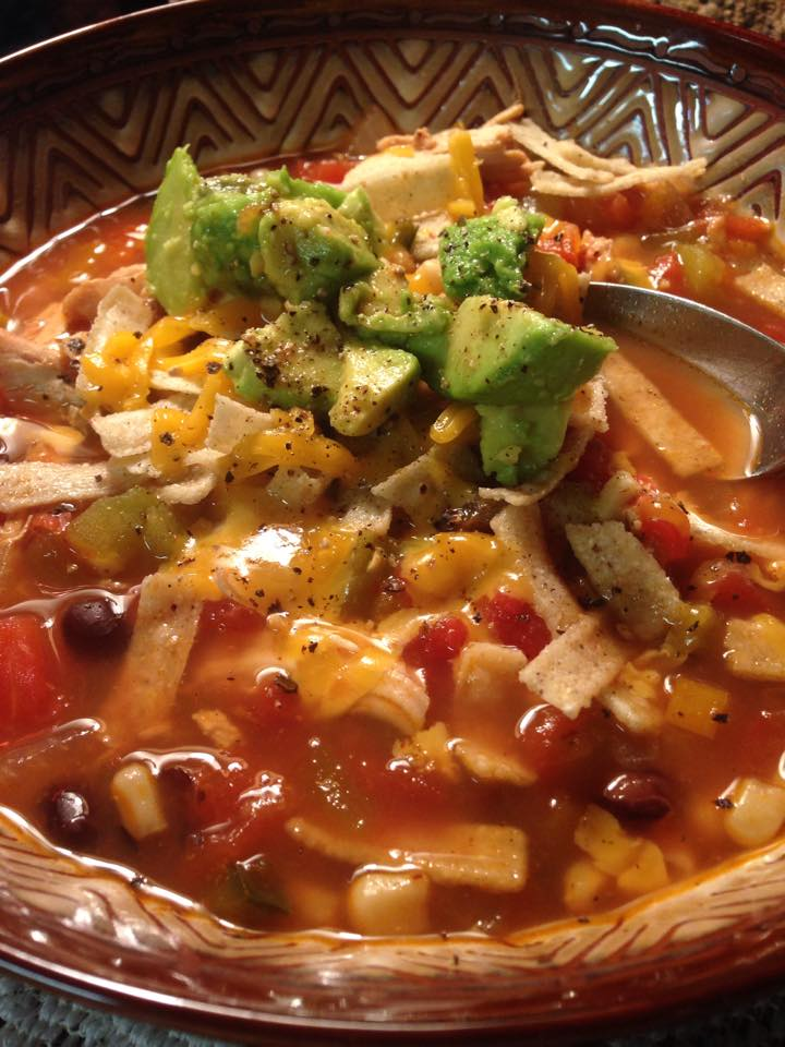 Picture of Hearty Chicken Tortilla Soup