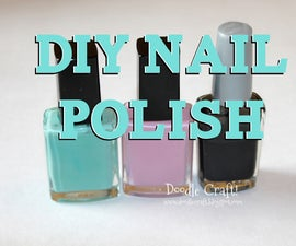 DIY Custom Color Nail Polish!