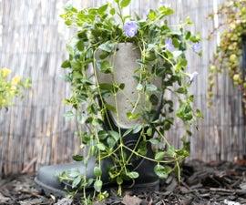 Concrete Boot Planter