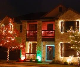 xmas-box: Arduino/ioBridge internet controlled Christmas lights and music show