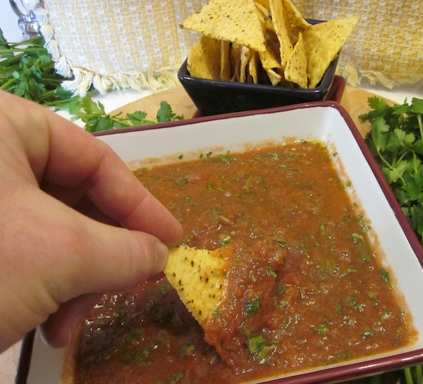 Picture of Over 28 Oz of Fantastic Salsa for About $2.99 in 5 Minutes