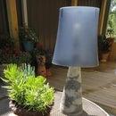 Cast Concrete Lamp