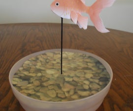 Papercraft Goldfish Robot