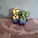 Rainbow loom minion