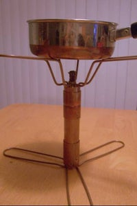 Copper Plumbing Alcohol Backpacking Stove