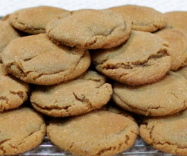 Easy Molasses Cookies