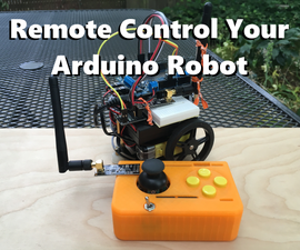 Remote Control Your Arduino Robot
