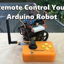 Remote Control Your Arduino Robot