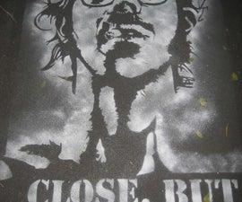 Chalk stencil