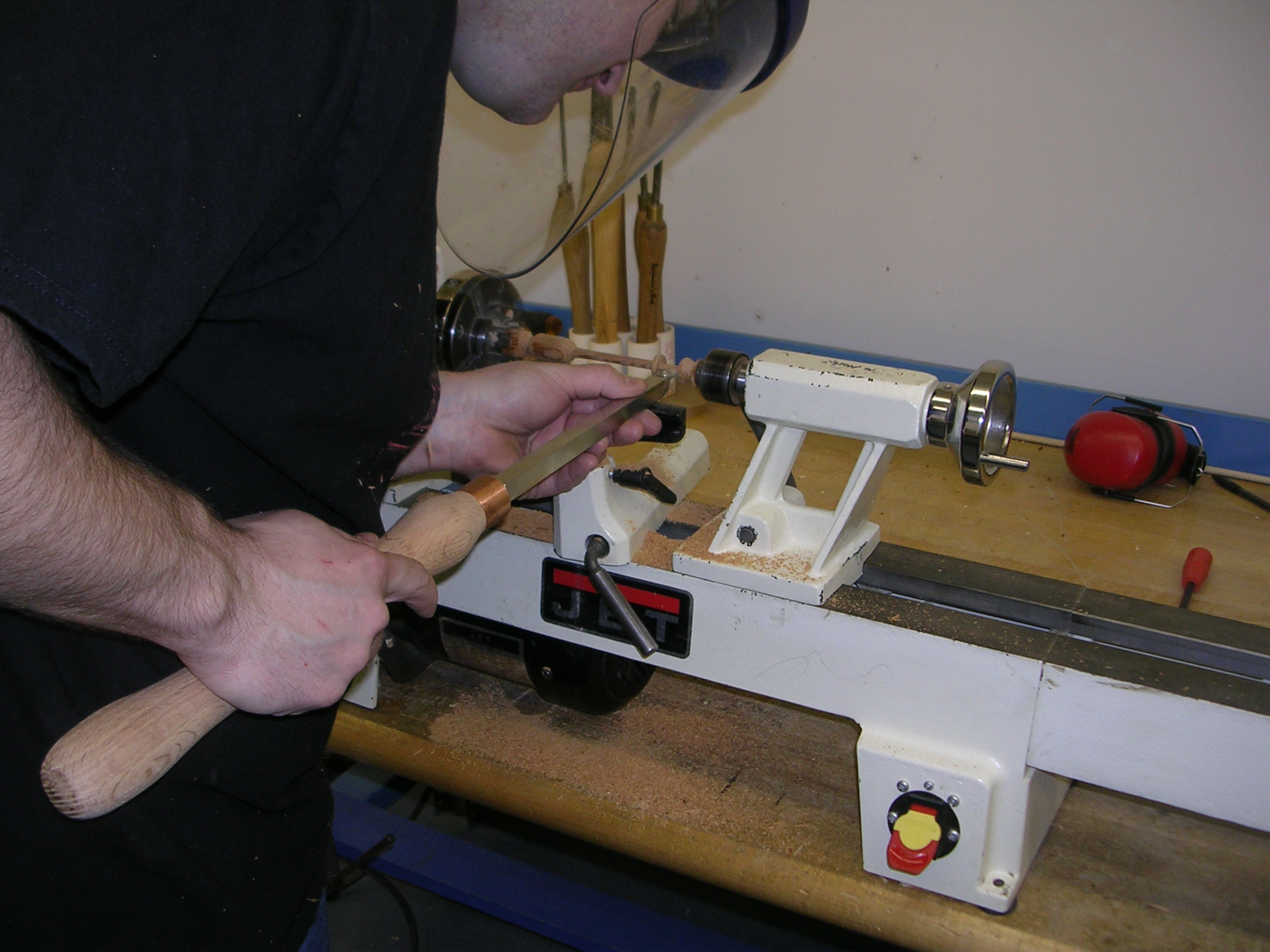 Picture of How to Turn a Wood Lace Bobbin