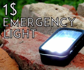 The Ultimate 1 $  Emergency Light
