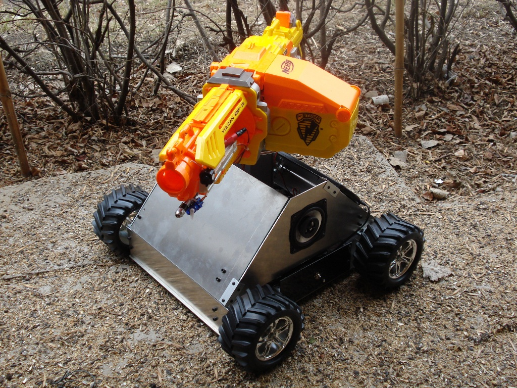 Picture of RC Nerf Tank