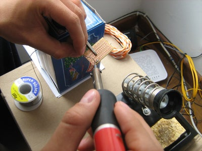Solder the Circuit / Upload Code to Arduino Uno
