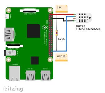 DHT22 - Temperature & Humidity Sensor