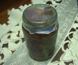Make the lid (haga la tapa)
