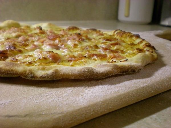 No-Knead Brick Oven-style Pizza