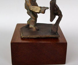 """""""Don't Push"""" Sculpture"""