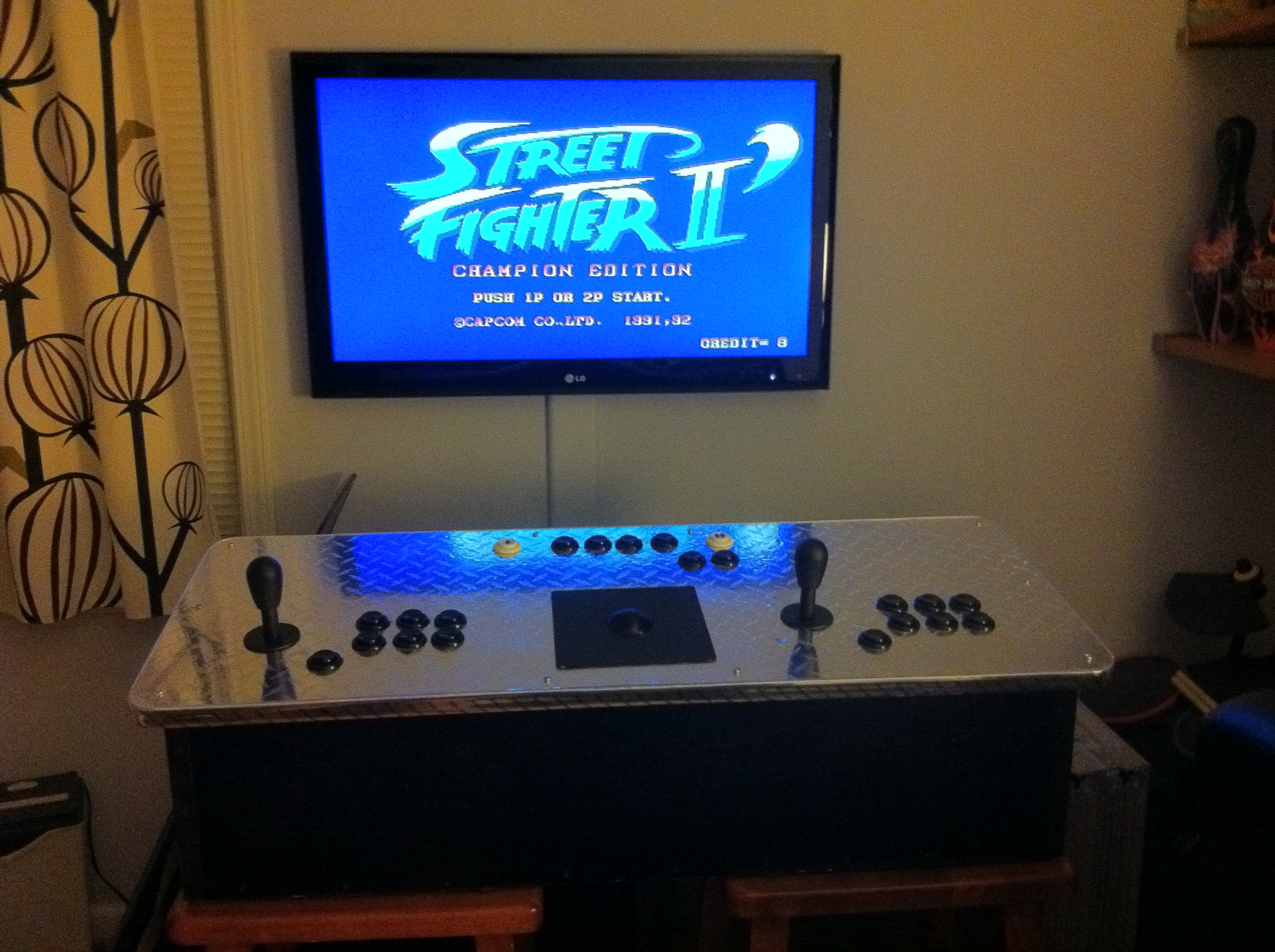 Picture of Portable Arcade Control Panel