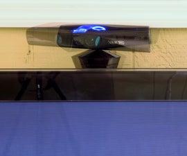 Make a Swiveling Kinect TV Mount