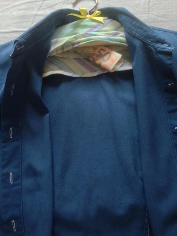 Picture of Secret Pocket / Clothes Hanger