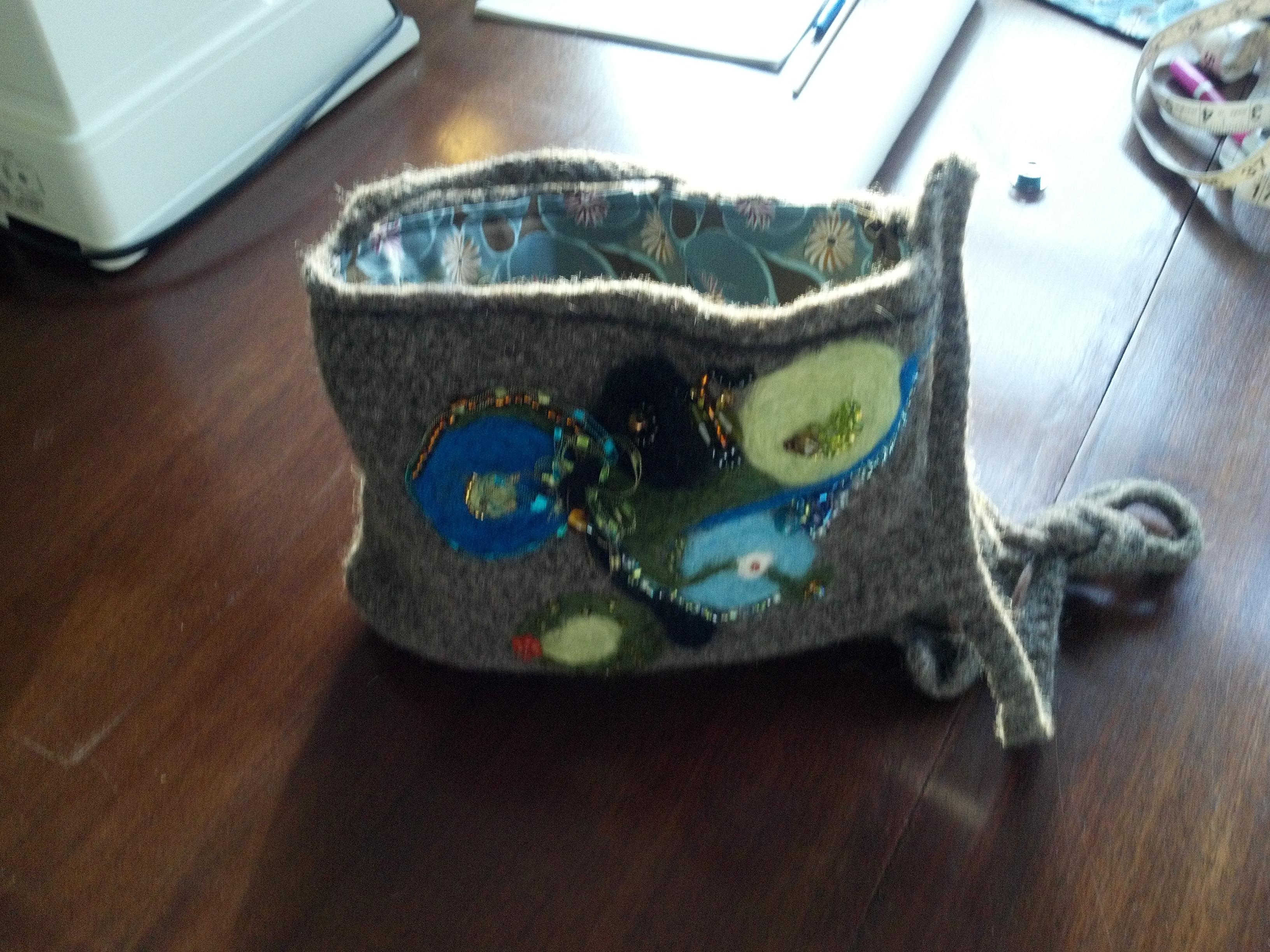 Picture of Crochet / Felted / Beaded Bag