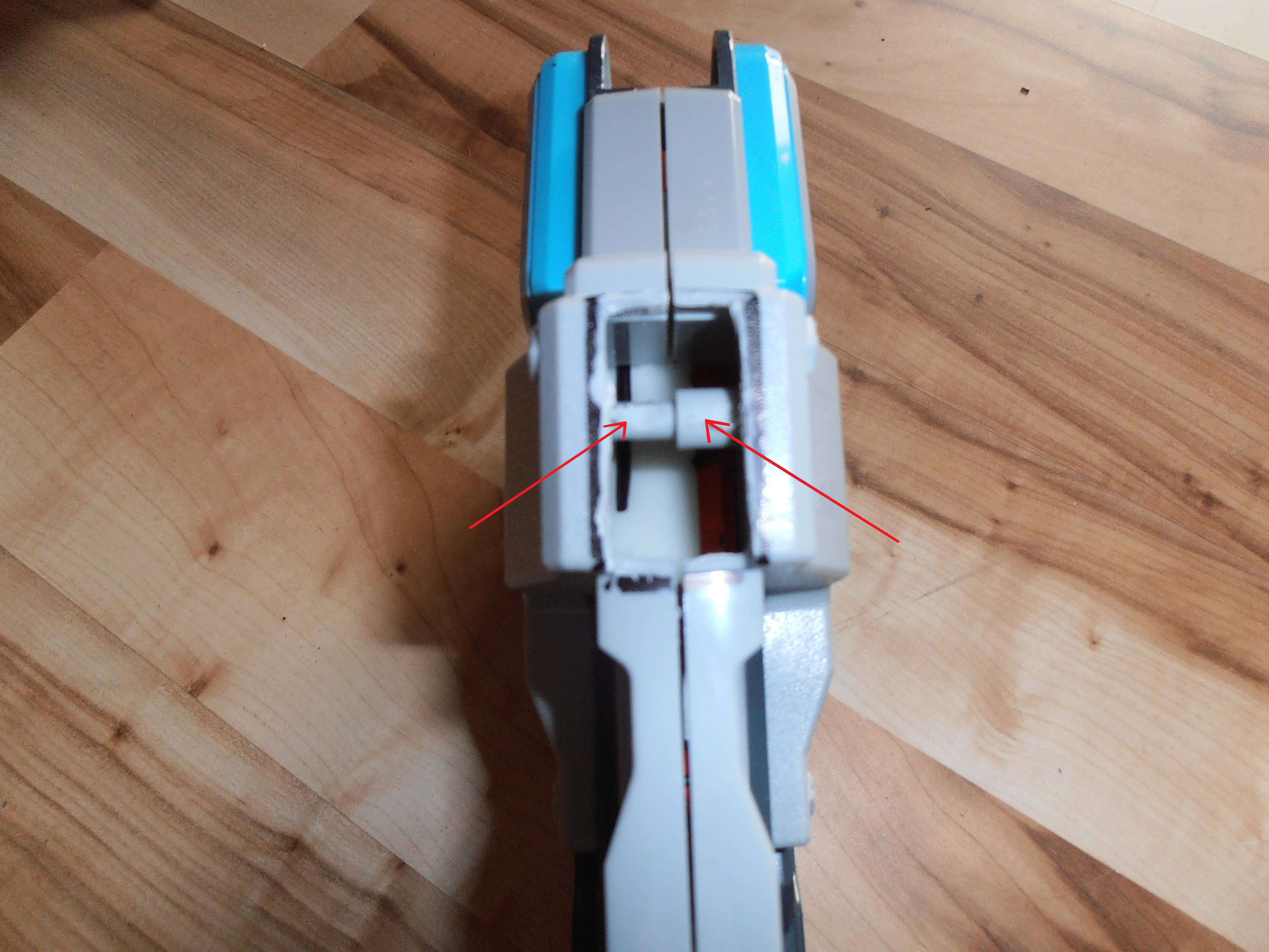 Picture of Reconstruction on Blaster Housing