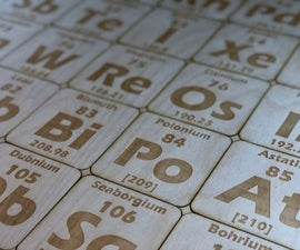 Periodic Table of Coasters