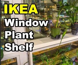 Window Sill Ledge Shelf for Plants
